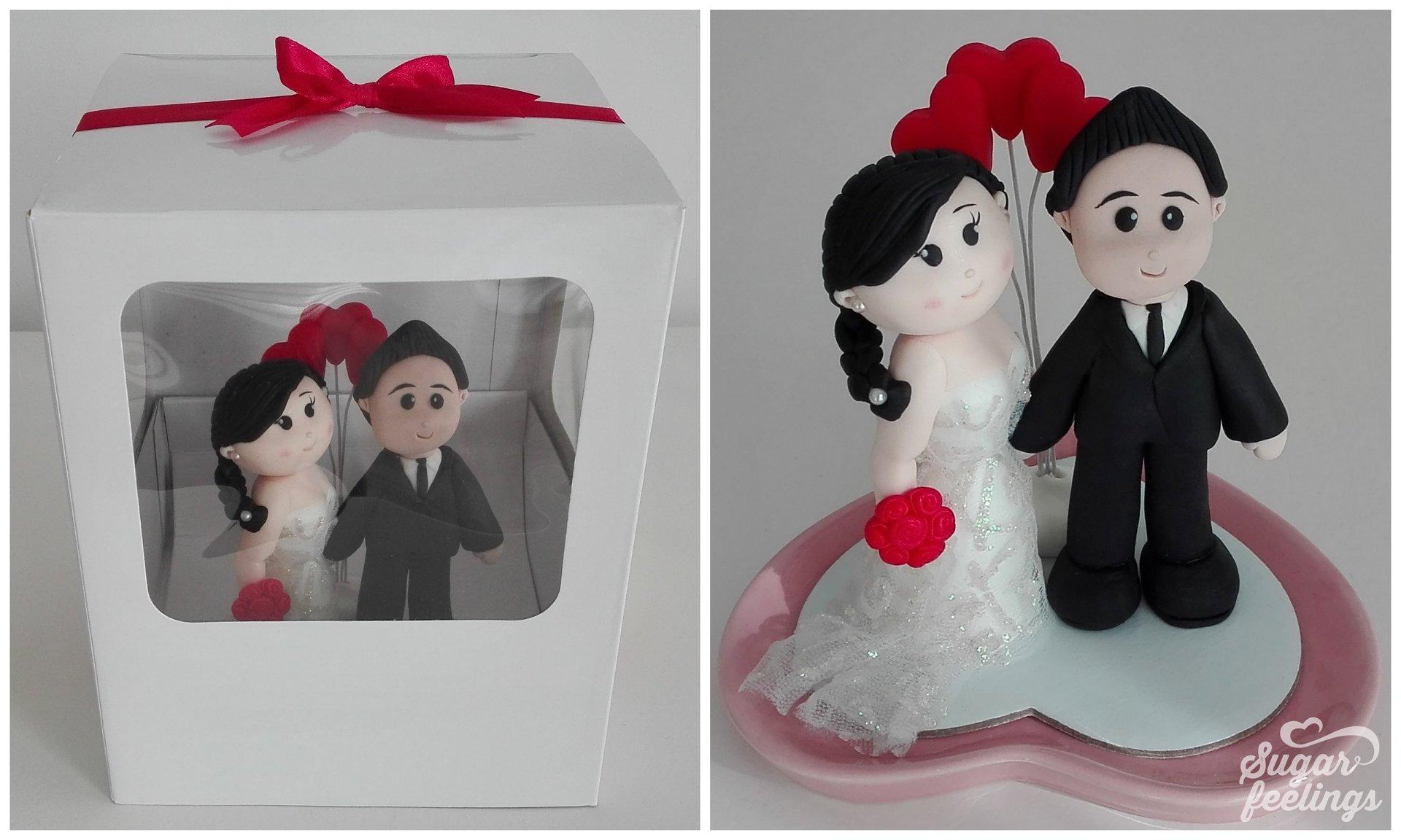 """Topo de Bolo de Casamento – """"Love"""""""