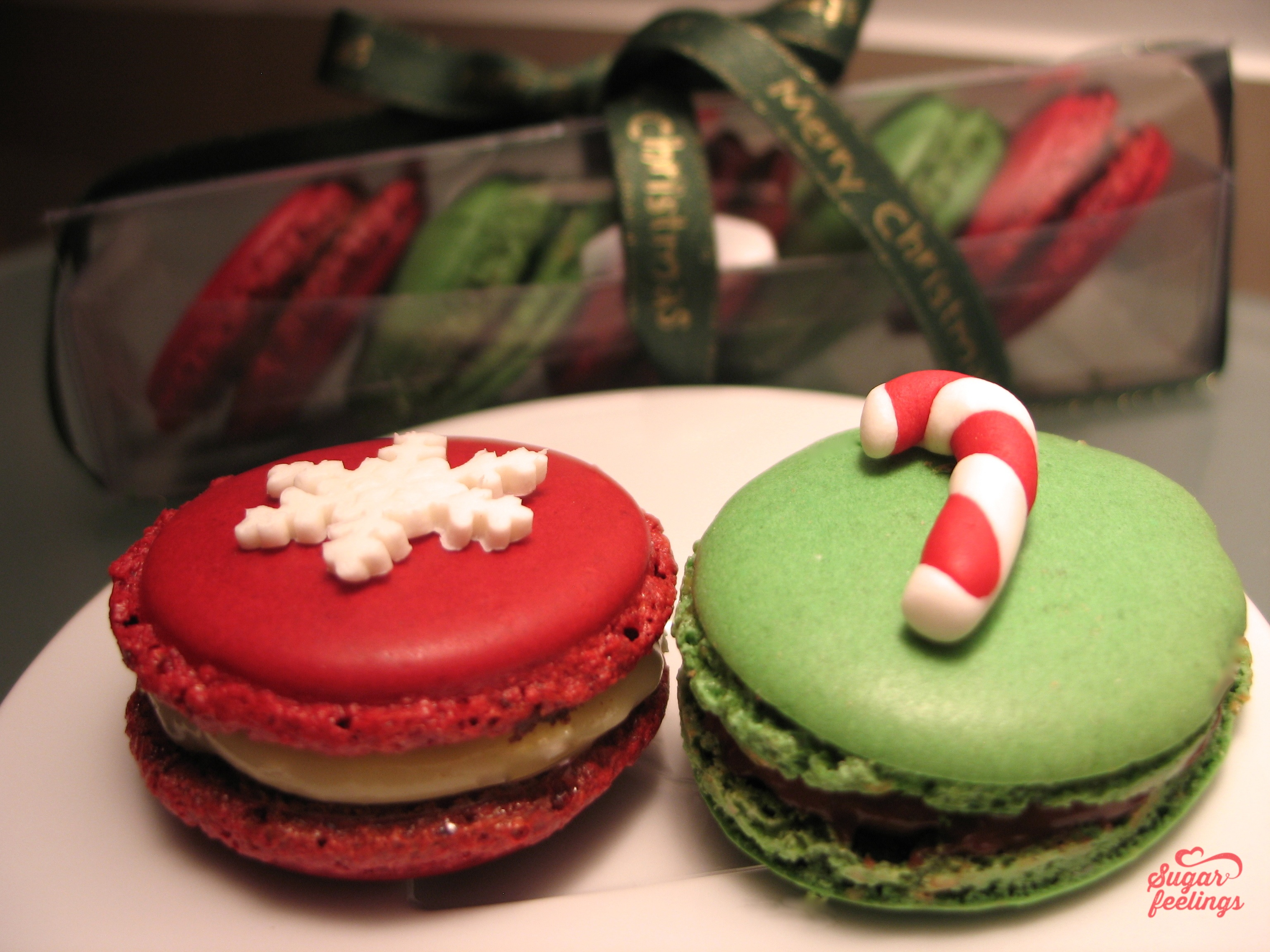 Macarons Natal
