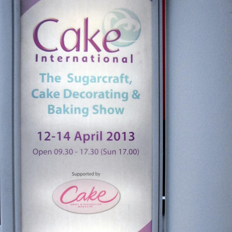 Cake International London Abril 2013