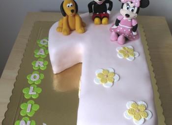 1º Aniversário – Minnie, Mickey e Pluto