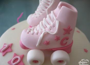 Os meus patins cor de rosa