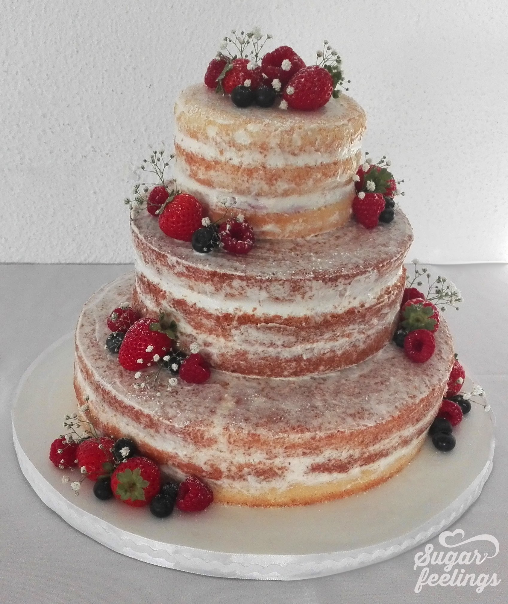 Casamento – Naked caked & Red fruits